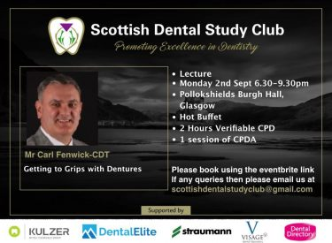 Getting to Grips with Dentures with Mr Carl Fenwick
