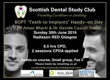 BOPT Teeth to Implants by Dr Bharti & Dr Casioli
