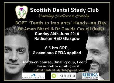 BOPT Teeth to Implants by Dr Bharti & Dr Casioli
