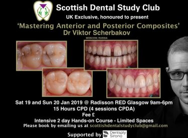 Mastering Anterior and Posterior Composites with Dr Scherbakov